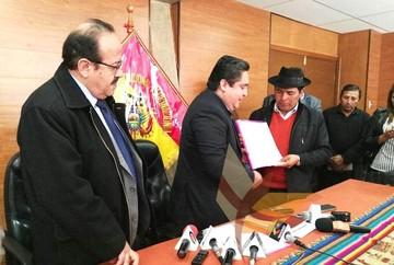 TCP declara constitucional la pregunta para aprobar la carta orgánica de Sucre
