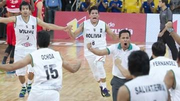 Bolivia logra victoria en el Sudamericano de básquetbol
