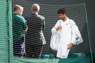 Wimbledon: Djokovic se refugia en la familia tras su derrota