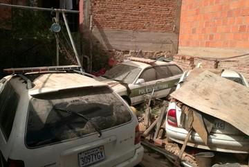 Sucre: Patrullas policiales se deterioran en talleres por falta de repuestos