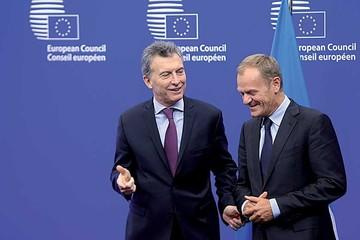 Macri reestablece la relación de Argentina con la Unión Europea