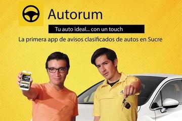 Aplicación 'Autorum' revoluciona la venta de motorizados por internet en Sucre
