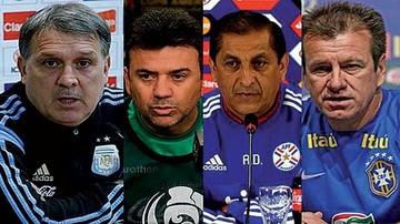 Cuatro selecciones se quedan sin técnicos