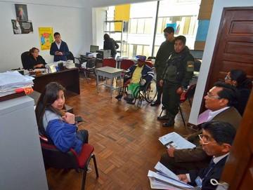 La Paz: Envían a prisión a persona discapacitada