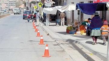 Buscan poner orden en la zona de El Tejar