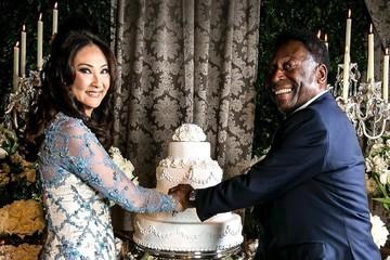 Pelé sorprende al mundo con su tercera boda a sus 75 años