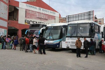 Terminal de buses genera  Bs 4.000 de ingreso al día