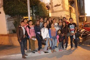 Universitarios visitan CORREO DEL SUR