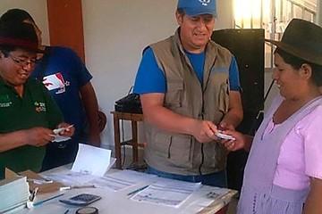 El PMA aplica mecanismos innovadores en Chuquisaca