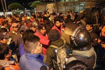 Transportistas alistan bloqueo tras detención de sus dirigentes