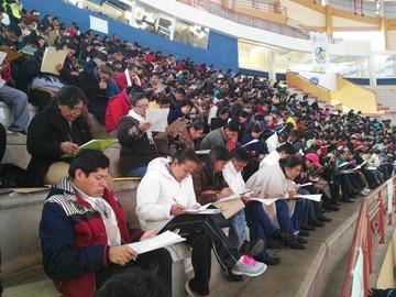 Más de 2.600 profesores rinden examen de ascenso