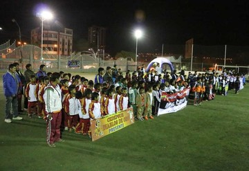 Inauguran torneo infantil
