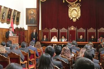 Celebran creación de primera Corte judicial en Bolivia