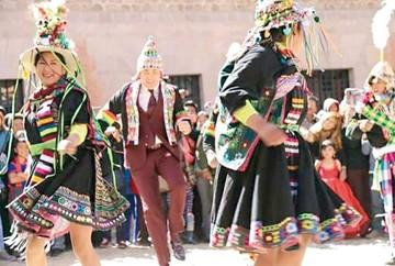 Potosí exhibe su riqueza cultural a Cristian Castro