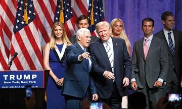"""Trump y Pence prometen """"seguridad y prosperidad"""""""