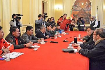 Enatex: La COB rompe el diálogo con el Gobierno