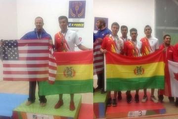 Bolivia consolida su potencial en raquet