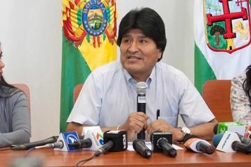 """Evo dice que sería """"saludable"""" el diálogo entre Bolivia y Chile"""