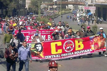 COB declara emergencia pero descarta ir al paro