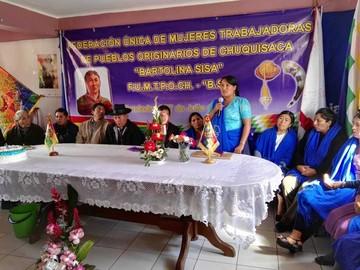 Mujeres campesinas apuestan por fortalecer liderazgos
