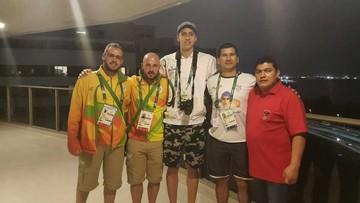 Quintanilla, primer atleta boliviano que concentra en Río