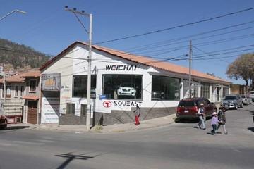 Vagoneta china Weichai se comercializa en Sucre