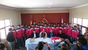 Fútbol Sub 16: Selección asiste a Nacional