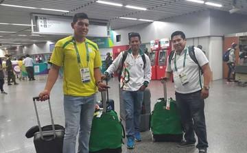 Bolivianos Soliz y Michel ya se preparan en Río