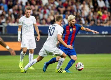 Barça vence al campeón inglés