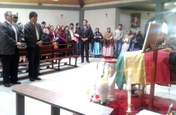 Evo afirma que el mejor homenaje a padre Obermaier es cumplir con el proyecto Ratuki