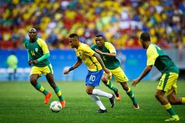 Brasil se aplaza en su debut olímpico
