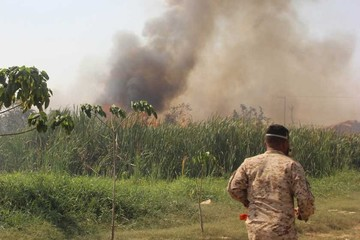Incendio controlado causa susto en el aeropuerto de Beni