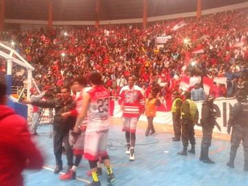 Pichincha golpea primero en la final de la Libobasquet frente a San Simón
