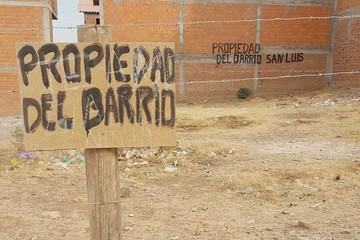 Reivindican propiedad de terreno en San Luis
