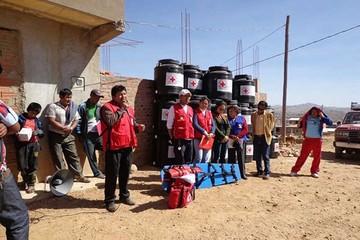 Alto Munaypata se beneficia con apoyo de Cruz Roja