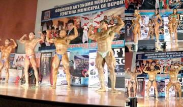 Atletas exhiben  fuerza y disciplina
