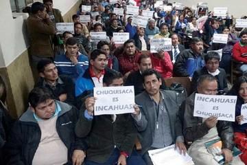 La región inicia protestas en defensa de Incahuasi