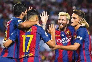 Barcelona saca ventaja en primera final de la Supercopa de España