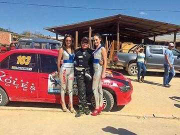 Monteagudo reunió a los mejores pilotos en  nuevo circuito