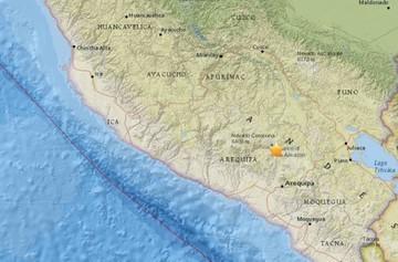 Al menos cuatro muertos y 30 heridos tras terremoto en región sureña de Perú