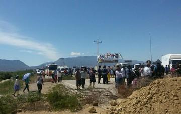 Campesinos de Tarija declaran tregua en bloqueo de caminos hasta el 23 de agosto