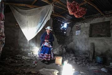 Damnificados por temblor en Perú se acercan a 6.000