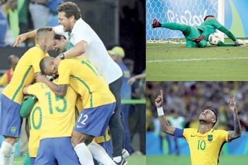 Brasil y Neymar rompen el maleficio