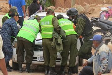 Capturan a 2 antisociales que se robaron Bs 50.000