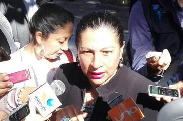 Senadora del PDC desafía al gobernador Urquizu a instalar piquete en la Plaza Murillo