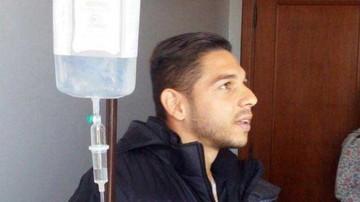 El venezolano  José Meza recibe el alta médica