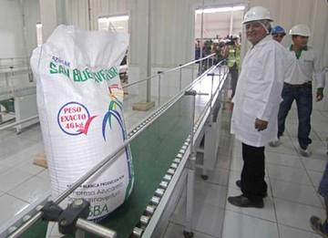 Ingenio San Buenaventura estima comercializar azúcar a fin de año