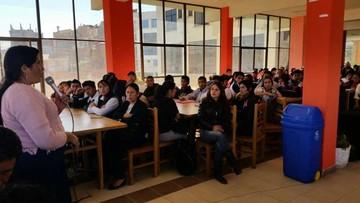 Estudiantes comienzan capacitación