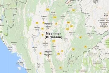 Terremoto de 6,8 grados de magnitud sacude Birmania y los daños recién se evalúan