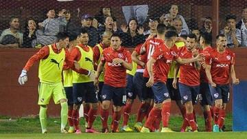 Independiente saca ventaja en el primer duelo frente a Lanús